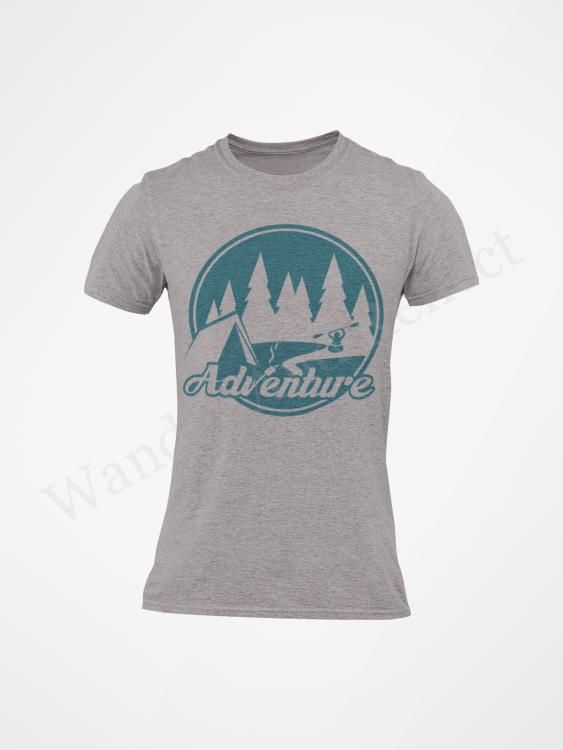 turquoise adventure t-shirt.