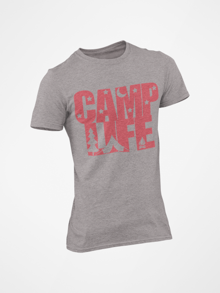 It's the camping life for me in this cool shirt.