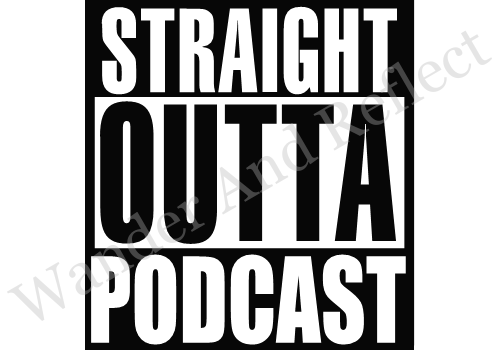 Podcast decal or sticker for those that want to be heard.