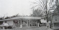 Alton, Illinois location of a Dairy Queen store.