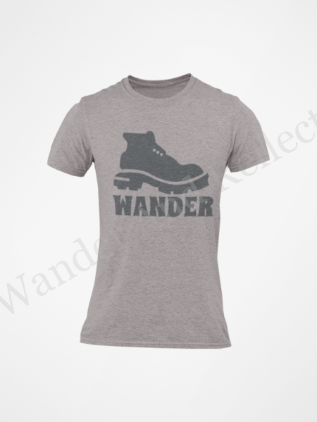 Time to wander in your boots and our graphic tee.