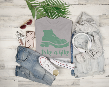 Take a hike can be a good thing with this clothing.