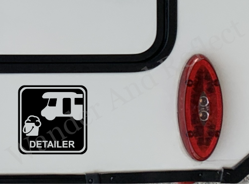 Rv and Truck detailers can find work with this 3m reflective vinyl decal.