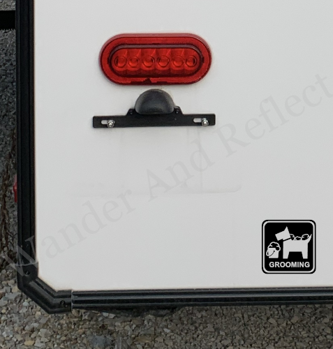 Find work as a dog groomer using our safety reflective stickers.