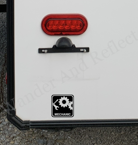 Work from the road when campers see your mechanic icon on your RV.