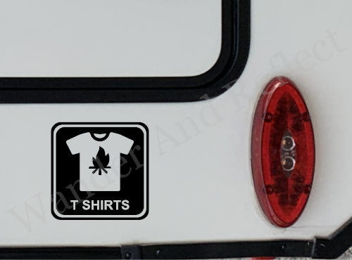 If you make t-shirts you need a reflective decal.