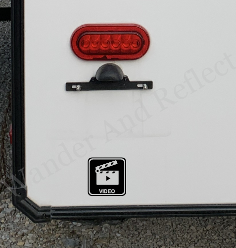 Promote your video production services wth an RV decal.