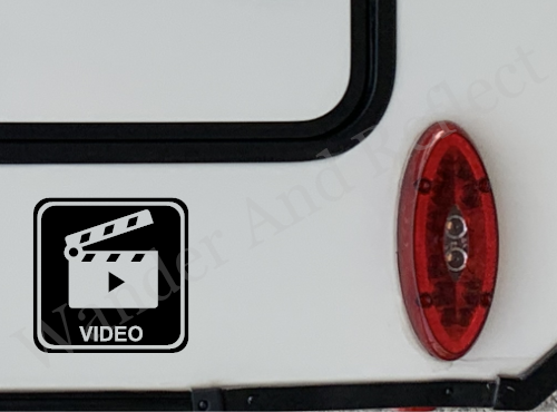 Produce video for campers and RVers by advertising on your camper.