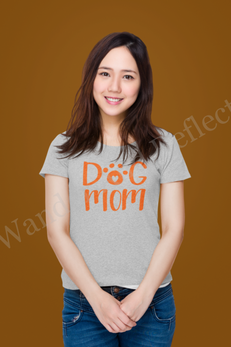 Dog Mom t-shirt for the pet lover in your life.