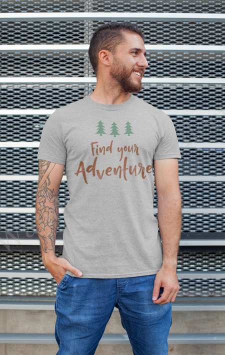 Find Your Adventure in our vanlife t-shirt
